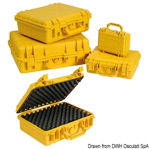 Cassette attrezzi e valigie stagne