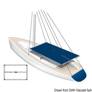 Tessilmare waterproof awning 255x240 cm