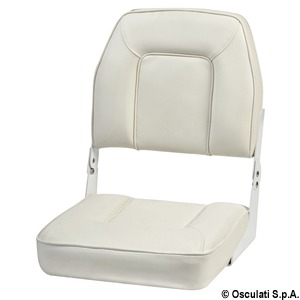 De Luxe seat with foldable backrest title=
