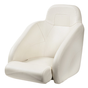 Ergonomic padded seat with H54 flip-up bolster title=