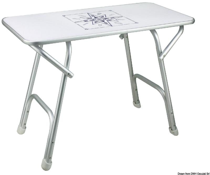 Table pliante de haute qualit - Table haute pliante rectangulaire ...