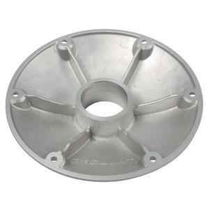 Base de rechange aluminium anodisé poli Ø 165 mm