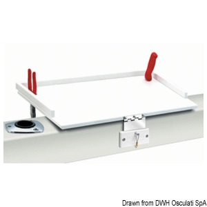 FDA plastic (HD polyethylene) worktop title=