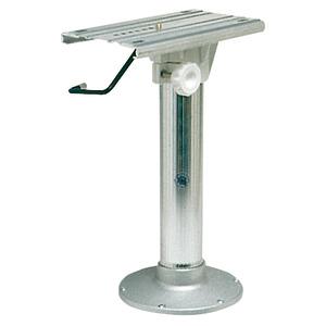 Pedestal with swivel slide