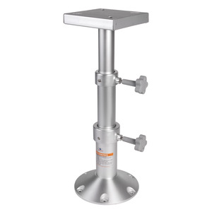 Tri-telescopic aluminium table pedestal title=