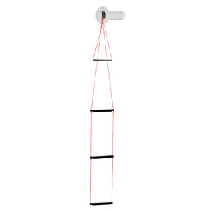 Recess fit 3-step emergency ladder title=