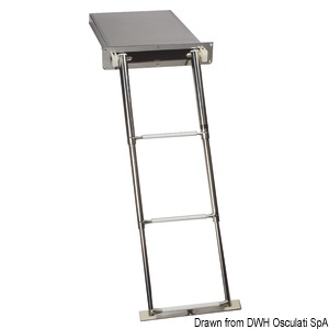Foldable ladder - Standard version title=