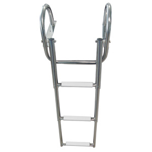 Gangplank telescopic ladder with handles title=