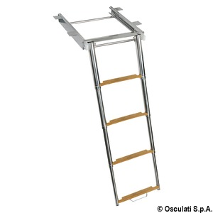 TOP LINE ladder with slide