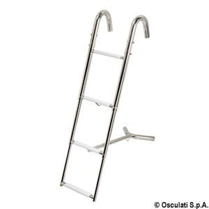 Bow telescopic ladder title=