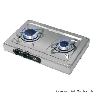 External stainless steel hob units title=