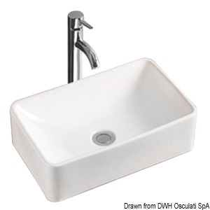 Square sink title=