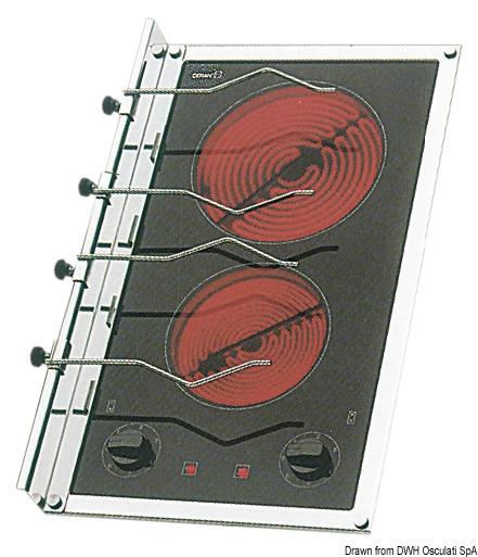 Kochfeld Elektrisch 2 Platten