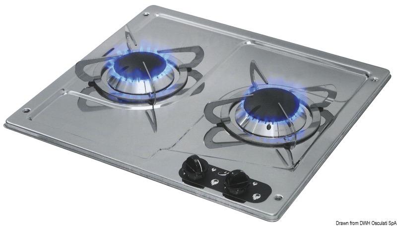 plaques de cuisson en inox encastrer