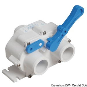 Valve for waste water systems