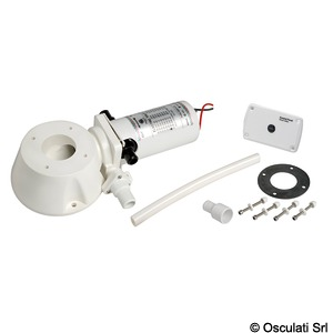 Toilet conversion kit, from manual to electric operation title=