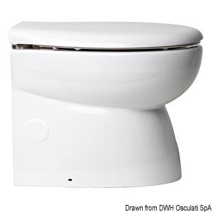 WC VACCUM BLUE WAVE Low Elegant model with SILENT 80-db pump title=