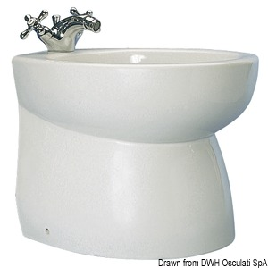SILENT series ceramic bidet title=