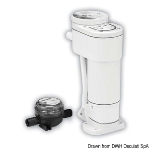 JABSCO electric toilet conversion kit 50.224.00 title=
