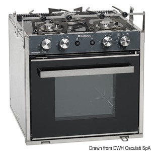 DOMETIC Moonlight gas cooker title=