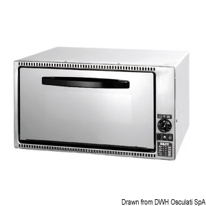 Oven and flush-mount gas grill DOMETIC title=