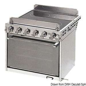 TECHIMPEX Horizon electric kitchen with oven title=