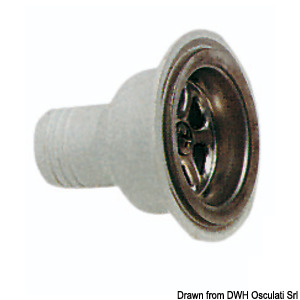 SMEV straight drain outlet