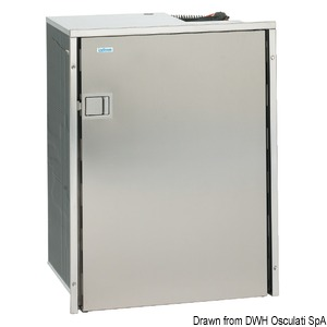 ISOTHERM 90-l freezer with stainless steel front panel
