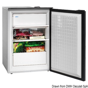 ISOTHERM Cruise 90 Classic and Cruise 90 Inox freezer title=