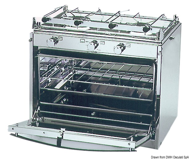 Cucine con forno TECHIMPEX