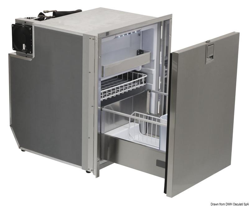 Kühlschrank Schublade : Kühlschränke von isotherm mit ausziehbarer schublade