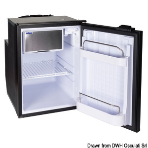 ISOTHERM refrigerator with maintenance-free 49-l Secop hermetic compressor title=