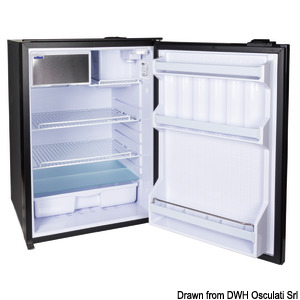 ISOTHERM refrigerator with maintenance-free 130-l Secop hermetic compressor title=