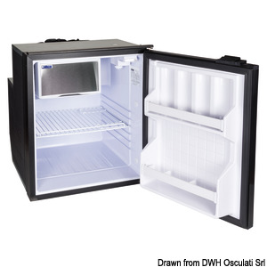 ISOTHERM refrigerator with maintenance-free 65-l Secop hermetic compressor title=