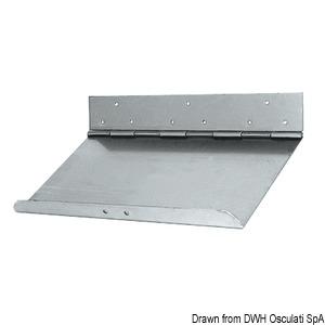 Standard series trim tabs, depth of 230 mm
