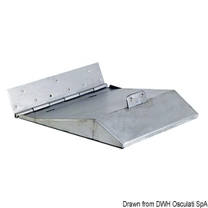 Pair of Sport series trim tabs for hulls exceeding 40-knot speed