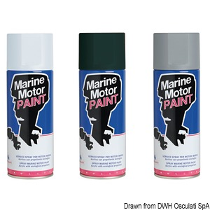 Antifouling spray paint for feet and propellers title=