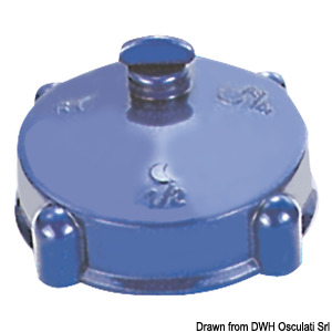 Spare plug without level indicator for portable tanks title=