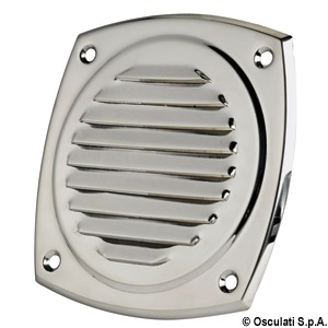 Stainless steel louvred vents title=