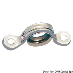 Sheet fairlead with stainless steel liner