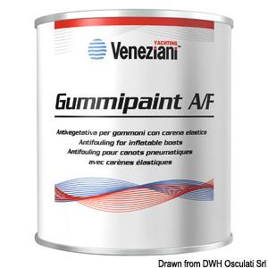 Эластичная необрастающая краска VENEZIANI Gummipaint Antifouling title=