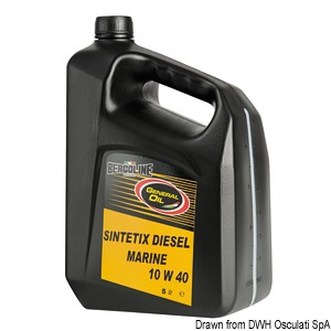BERGOLINE - GENERAL OIL Sintetix Diesel Marine 10W40
