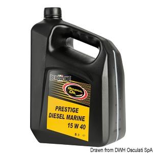BERGOLINE - GENERAL OIL Prestige Diesel Marine 15W40 title=