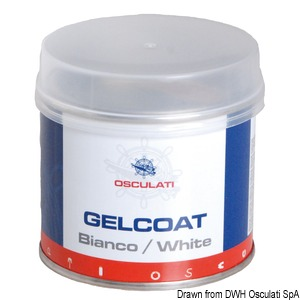 Gel coat bianco title=