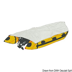 Accessories for rubber dinghy covers