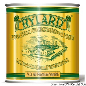 RYLARD VG66 Premium clear varnish for wood substrates title=