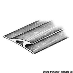 Rubbing strake 3x90x23 grey