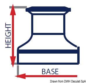 standard Hauteur winch de 130 à 315 mm Housse de winch
