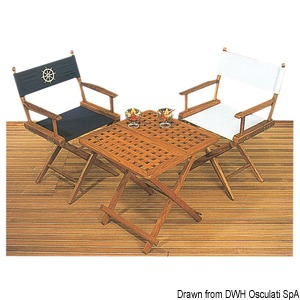 ARC teak tables and chairs