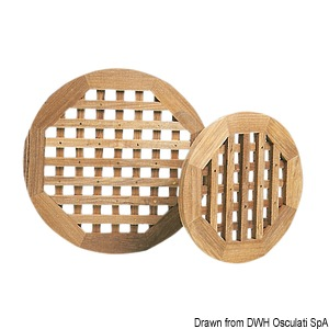 ARC grating for showers, toilets or round bars - thickness 22 mm title=